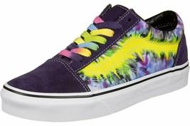 NEW Vans Old Skool TIE DYE MYSTERIOSO TRUE WHITE Unisex Mens Skateboardi... - $99.99