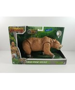 New Jumanji Movie Big Paw Bear Action Figure Walmart Exclusive Sound & H... - $24.99