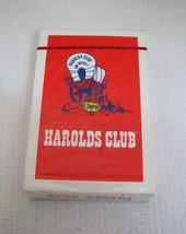 Older MIP Never USED Harolds Club Reno Deck of  Playing Cards Casino T53  - $9.90
