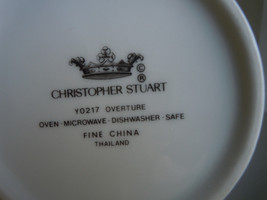 Christopher Stuart Overture Sugar Bowl and Lid image 2