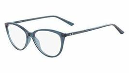 NEW Calvin Klein CK 18543 430 Crystal Teal Eyeglasses 53mm with CK Case - $79.15