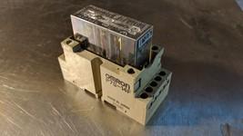 NEW omron p7s-14f relay socket 14 pin & g7s-3a3b 24vdc relay 240vac 3a - $34.65