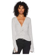 Free People All Types Of Twisted Top Grey - $44.99