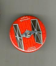 Hallmark Sdcc San Diego Comic Con Exclusive Button Pin Star Wars Tie Fighter - $7.91