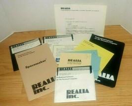 Vintage Realia SpaceMaker 1.09 1986, 1987 First Compressor Software for PCs - $39.59