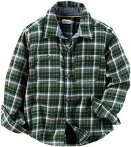 Brand New Carter's Checker Button Down Shirt - Plaid - 5T - $25.99