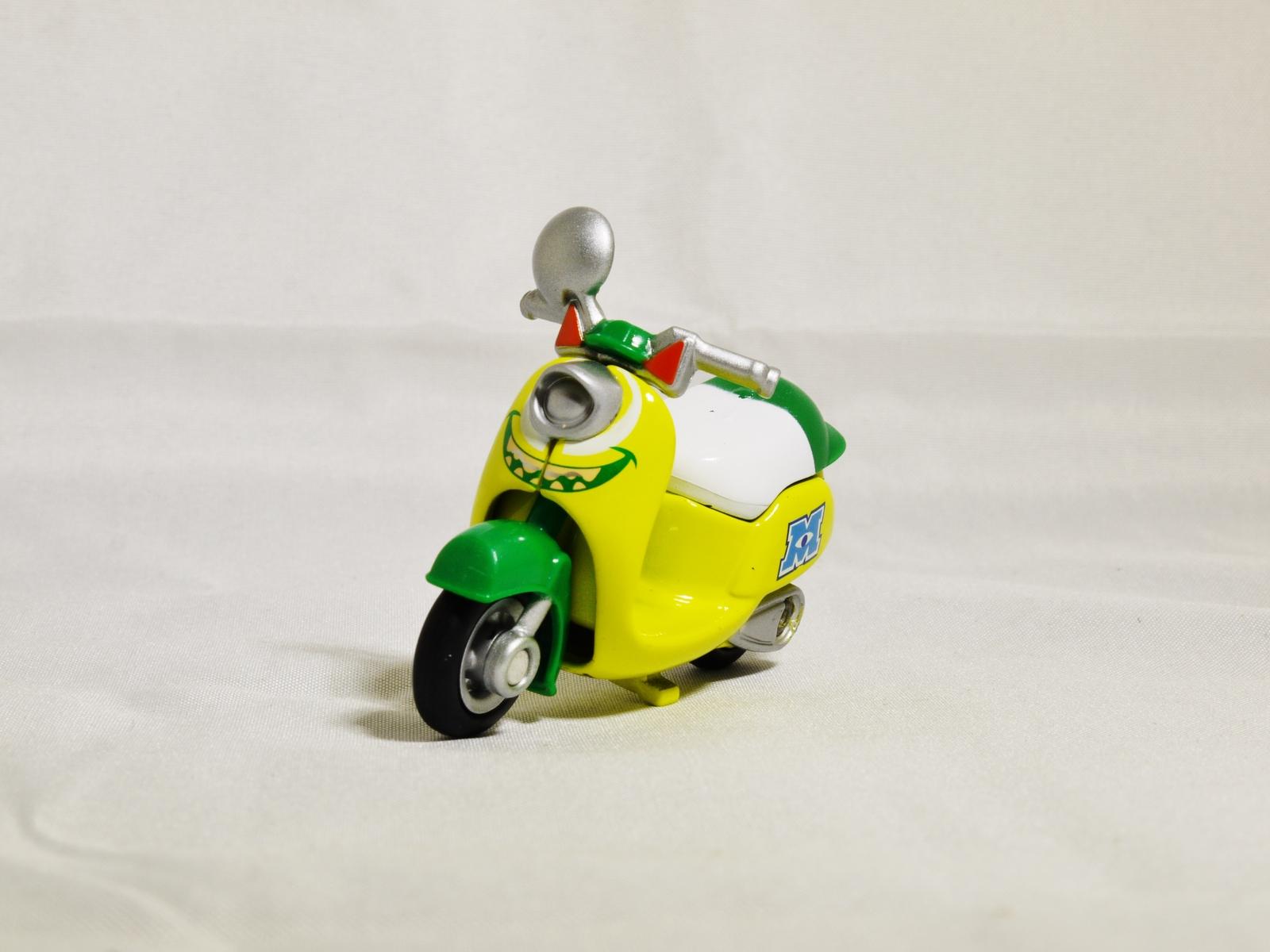 TAKARA TOMY TOMICA Disney Motors Monsters University Mike Wazowski Custom Die...