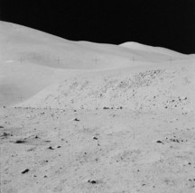 St. George Crater and Hadley Rille seen by Apollo 15 astronauts Photo Print - $7.05+