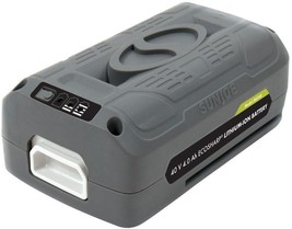 Snow Joe 40V Lithium-Ion Battery 4 Amp Cordless Emission-Free Air Eco-Fr... - $127.90