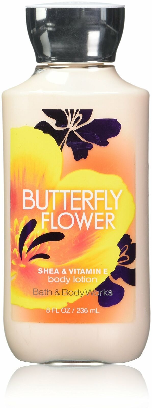 Primary image for LOT OF 2 Bath & Body Works Butterfly Flower Body Lotion 8 oz Shea & Vitamin E