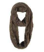 Modadorn Solid Infinity Fur Brown Scarf Women's Fashion, Clothing & Acce... - $24.74