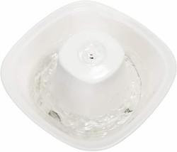 iPettie Ceramic Fiumi Electric Lotus Pet Drinking Water Fountain Cat Dog... - $53.99