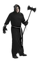 Forum Novelties Men's Plus-Size Death Robe Plus Size Costume, Black, Plus - $24.45