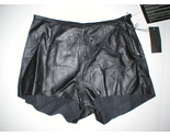 NWT New Designer R13 R 13 Black Leather Short Shorts XS Womens Soft Italy 24 - $8.111,49 MXN