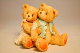 Cherished Teddies: Seth & Sarabeth - 128015 - We're Beary Good Pals - $15.83