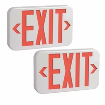 "Rechargeable LED ""EXIT"" sign emergency lights with battery backup LED, P... - $43.99"