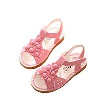 Toe Sandals Girls Princess Shoes Summer Children's Shoes Fish Mouth Open