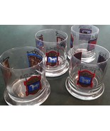 Vintage Set of 4 THE WHITE HORSE CELLAR Whiskey Glasses - $30.00