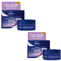 2 Nivea 24h Sensitive Night Cream 50 ml 1.7 fl oz - $44.79