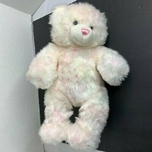 Build a Bear Pink White Tye Dye Bear Plush Stuffed Animal Toy 15 in tall - $17.59