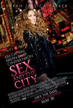 2008 SEX AND THE CITY Movie POSTER 11x17 Promo Sarah Jessica Parker - $7.99