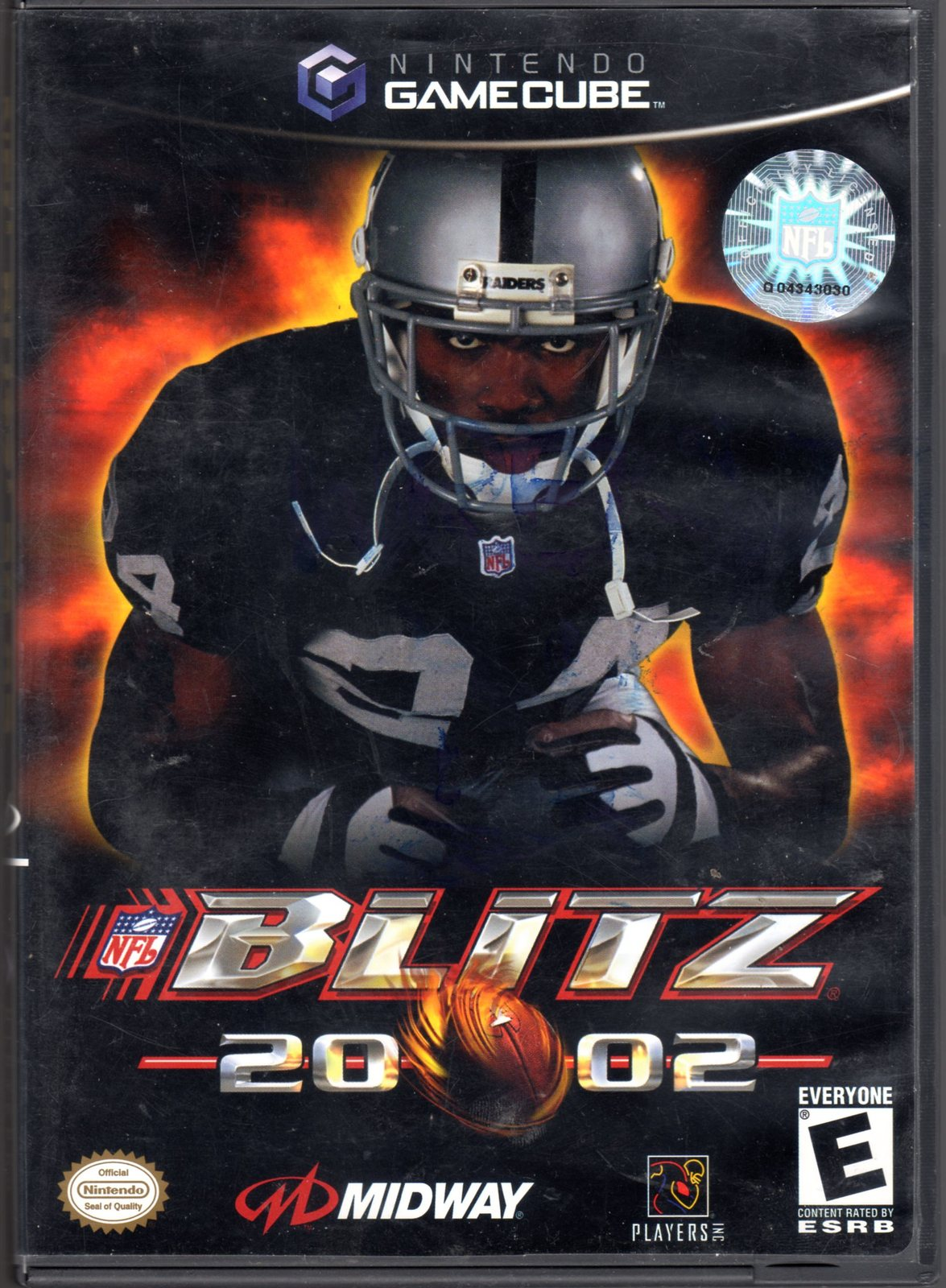 Primary image for  	 NFL Blitz 2002 - Nintendo Gamecube