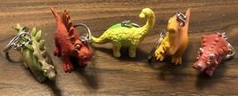 Dinosaur Key Chains - Pick Your Dinosaur! - £4.30 GBP