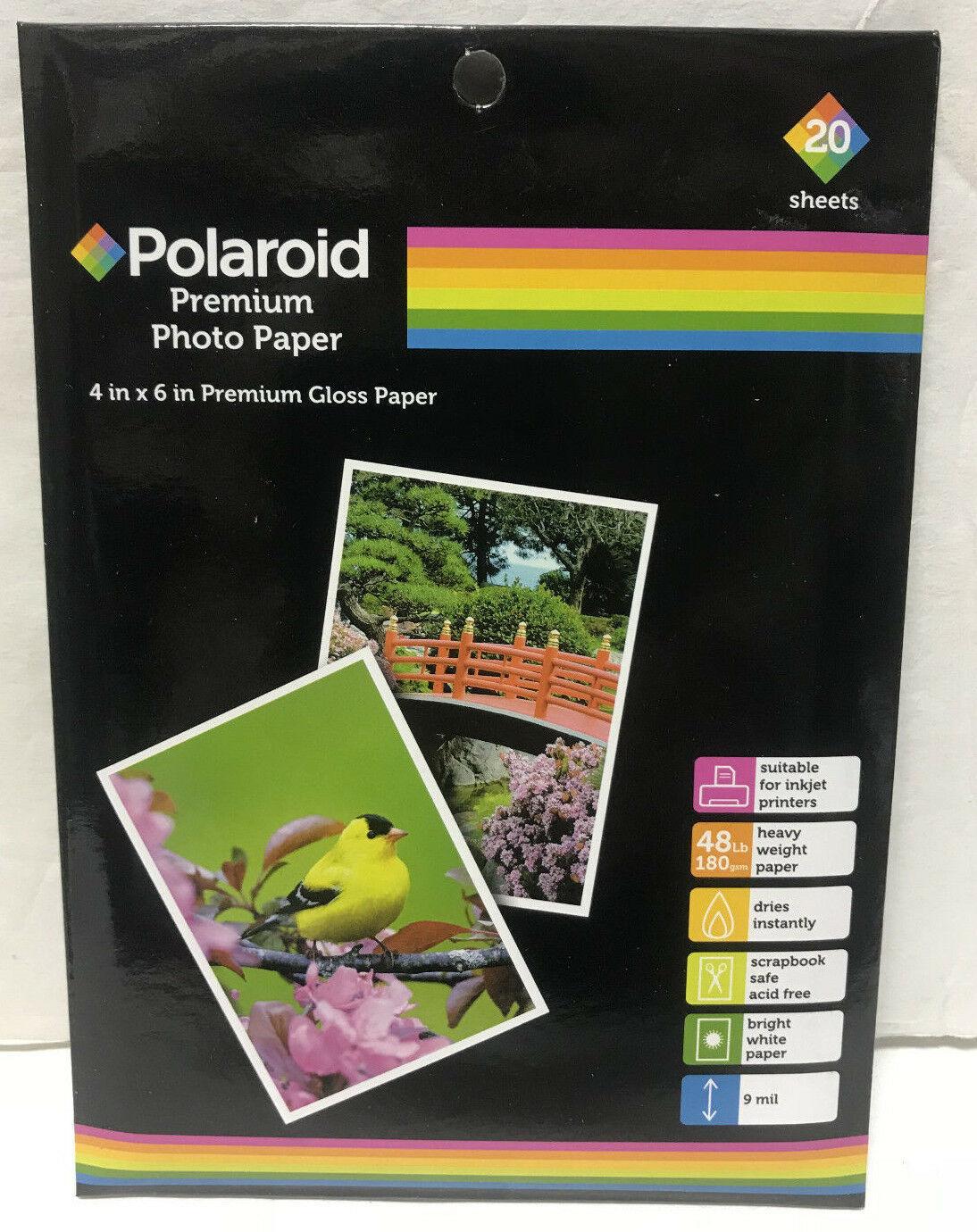 Sheets !!! High Quality Photo Paper POLAROID or similar Premium Gloss 8.5x11 6