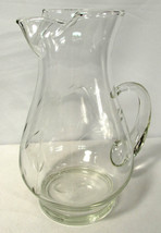 Vintage 1970s Princess House Crystal Heritage Pitcher 72 Oz.  - $11.87
