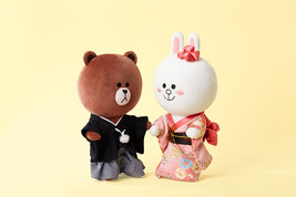 LINE Friends BROWN & CONY Japan Costume Doll [Limited Edition] Kimono *T... - $3.555,34 MXN