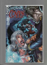 The Coven #3 - June 1999 - Awesome Comics - Churchill, Rapmund, Tanya & ... - $4.89