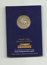Great Britain 1(ONE) POUND 2000 in Protective Collecting Cards for UK £1... - $6.00