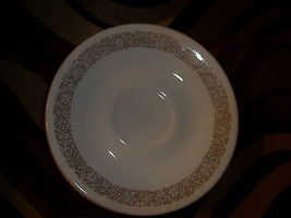 Corelle  WOODLAND BROWN  Saucer Saucers EXCELLENT (priced each) - $1.49