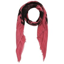Diesel Unisex Swillot 00S9E4 Square Scarf Red - $92.07