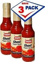 3 pcs Badia Ghost Pepper Sauce - $39.96