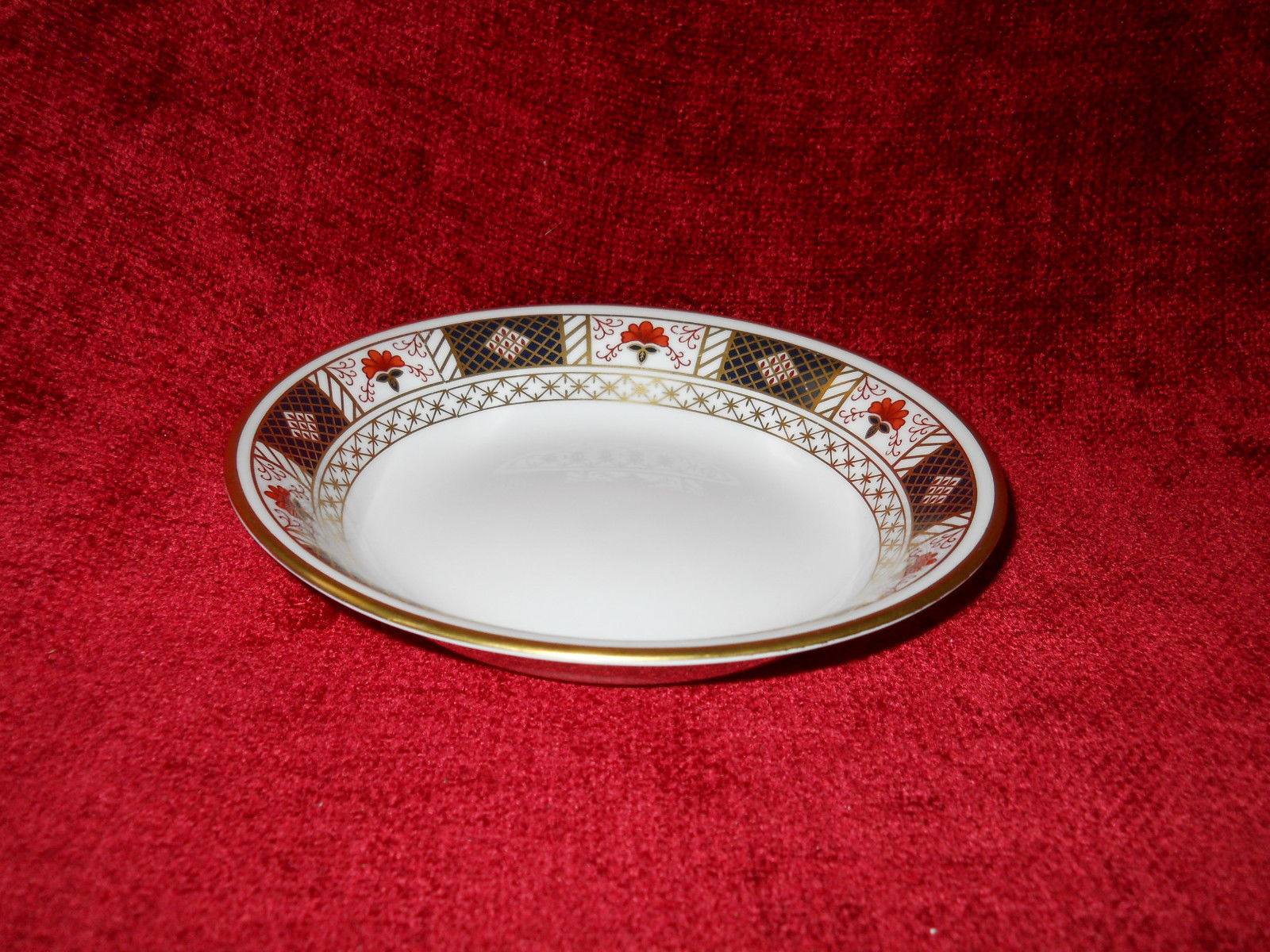 "Primary image for Royal Crown Derby "" DERBY BORDER "" cereal bowl 6 1/2"""
