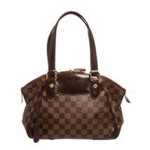 Louis Vuitton Damier Ebene Canvas Leather Verona PM Bag - $1,195.00