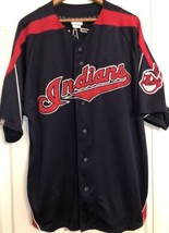 Cleveland Indians Vintage Majestic MLB Baseball Jersey - $19.90