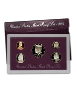 1989-S Proof Set United States US Mint Original Government Packaging Box - $12.89 CAD