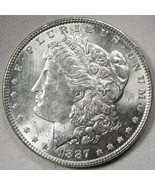 1887-P Silver Morgan Dollar UNC+ Coin AH235 - $43.47