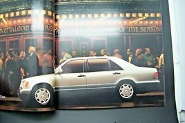 1996 mercedes s class owners sales brochure w140  new old stock s500 s420 s320 - $29.69