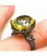 *jinn ring*  witchcraft vessel coven owned SOLOMON ABUNDANCE Djinn size 7.5 - $333.58