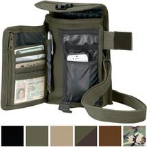 Travel Organizer Pouch Canvas Passport Holder Wallet Case Portfolio Shou... - $242,37 MXN+