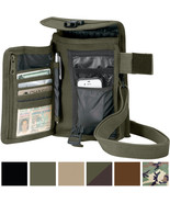 Travel Organizer Pouch Canvas Passport Holder Wallet Case Portfolio Shou... - $11.99+