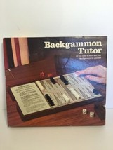Backgammon Tutor E.S. Lowe 1974 Complete Vintage Game - $17.82