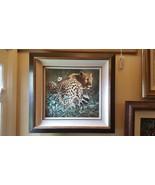 "Craig Bone ""Leopard"" Signed Giclee 29"" x 32"" Framed  Limited Edition 167... - $1,381.05"
