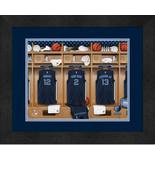 Personalized Memphis Grizzlies 12 x 16 Locker Room Framed Print - $63.95