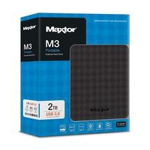 MAXTOR SEAGATE M3 2TB Mobile Esterno Hard Esterno Nero USB Portatile 2 T... - $100.43