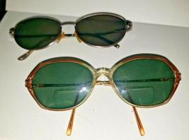 Lot 2 Vintage Prescription RX Sunglasses Eyeglasses Frames Ralph Lauren Gloria V - $1.99