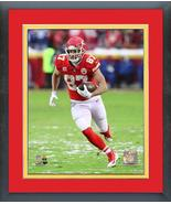 Travis Kelce 2018 AFC Divisional Playoff Game Star-11x14 Matted/Framed P... - $43.55
